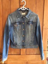 Indigo M&S Denima Jacket size 10