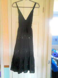 Brand New Pretty Tiered Gypsy Dress UK One Size will fit approx size 34/36