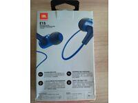 Unopened JBL E15 headphones
