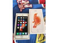 IPhone 6S Plus 64GB Rose Gold Excellent Condition Unlocked Any Network