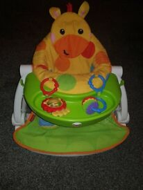 Fisher price giraffe sit me up chair