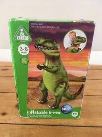 New inflatable T-Rex dinosaur toy