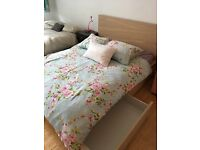 Ikea storage bed perfect condition with mattress