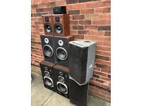 Joblot speakers JBL Technics TEAC Sound LAB