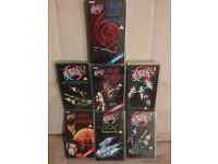 Seven BBC Blakes 7 VHS videos