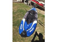 Sevylor Colorado inflatable canoe / kayak - includes battery inflation pump