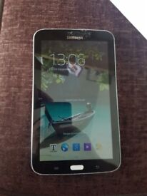 Samsung galaxy tab3 fully working NEW SCREEN today
