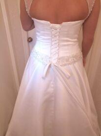 Berketex Charlotte ivory bridal gown size 18