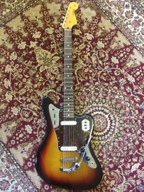 Rare Fender Jaguar Baritone Custom 2004 Crafted in Japan Electric Guitar - Excellent Condition!