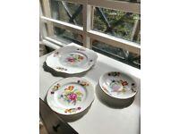 Royal Stafford China Plates