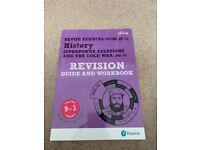 Edexcel History GCSE (9-1) Revision Guide & Workbook includes free online edition VGC