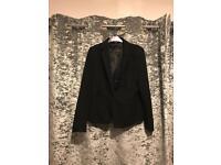 NEXT black suit jacket ladies size 10 regular