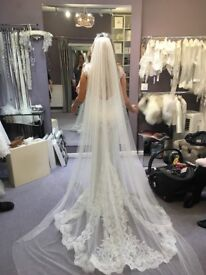 Immaculate cathedral Veil for sale