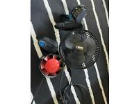 Indoor grow Fans 15cm + 10cm in-line