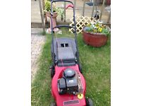 MOUNTFIELD 35 CLASSIC PETROL MOWER 18 INCH CUT BRIGGS & STRATTON ENGINECAN BE SEEN WORKING