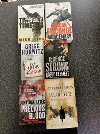 Various War and Murder stories