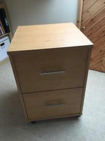 Filing cabinet 2 drawers
