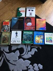Bundle of psychology books