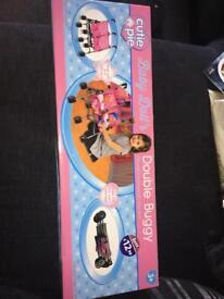 Baby dolls double buggy.