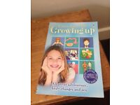 Usborne facts of GROWING UP BOOK