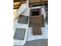 Edwardian drain covers for a period home