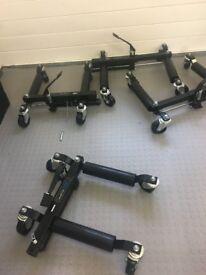 Set of 2 Wheel skates jacks 680Kg per wheel - BNIB