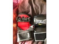 MMA striking training gloves