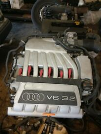 AUDI TT MK2 BUB ENGINE 07 - 14 3.2 COMPLETE 78,000 MILES