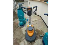 Floor cleaner wet and dry