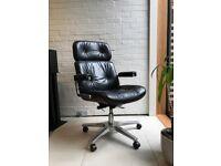 Karl Dittert Office Chair, Martin Stoll, Giroflex, Charles Eames, Retro