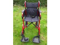Wheelchair immaculate condition only used 3 times