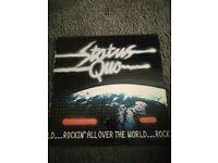 Status Quo Rockin All over the world vinyl lp