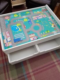 Kids Play and Storage Table