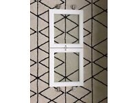 *** Ikea Billy Height Extension with oxberg glass doors ***