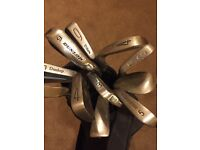 Selection of Golf Irons & Bag