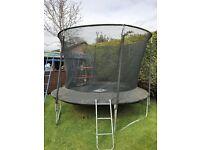 12 ft garden trampoline