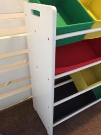 Children's storage unit