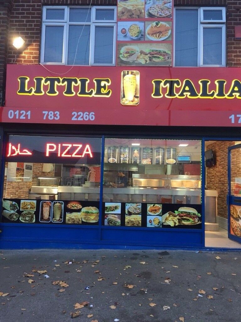 Pizza shop and fish and chips takeaway for sale