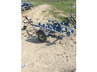 Seadoo electrical roller trailer