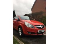 Red Vauxhall Corsa 1.4 Petrol SXI