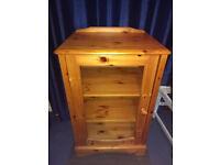 Large Pine Cabinet Unit / Shelves - solid Wood