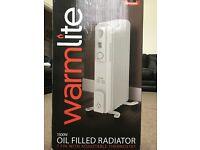 Warmlite Oil Filled Radiator 1.5kW