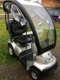 TGA Breeze S4 Silver Mobility Scooter
