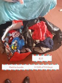 Boys clothes aged 1half 2-3 bits of 3-4