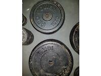 6x10kg weights plates