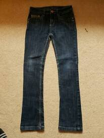 Girls jeans 11-12years