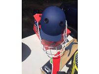 Cricket Helmet and Face Guard (brand new)