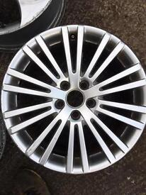 Genuine VW golf MK5 R32 single alloy wheel