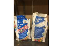Mapei tile cement and grout