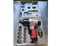 "Clarke X-Pro CAT131 ½"" Twin Hammer Air Impact Wrench"